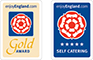 Enjoy England Awards - Gold Award & 5 Star Self Catering